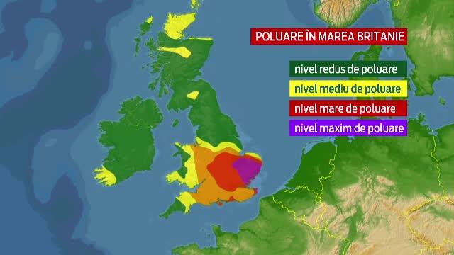 Smogul a pus stapanire si pe Londra. Cinci milioane de persoane, bolnave de astm, au fost sfatuite sa ramana in casele lor