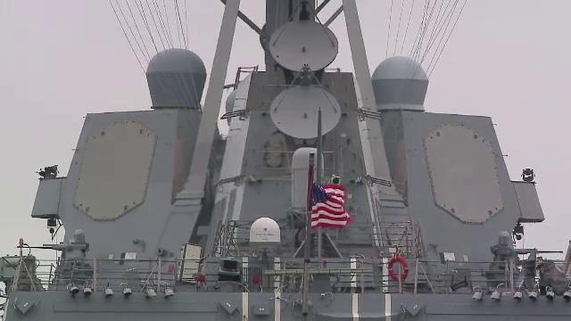SUA trimite un distrugator in Marea Neagra in ciuda avertismentului lansat de Rusia