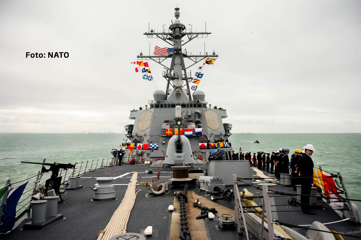 Rusia: NATO isi construieste in mod activ prezenta navala in Marea Neagra. Distrugatorul Donald Cook a ajuns in zona