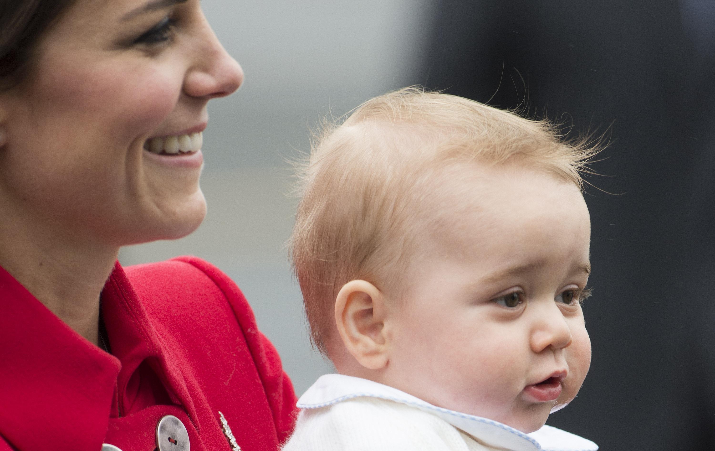 Are numai opt luni, dar fura toate privirile. Cum a aparut printul George al Marii Britanii in Noua Zeelanda