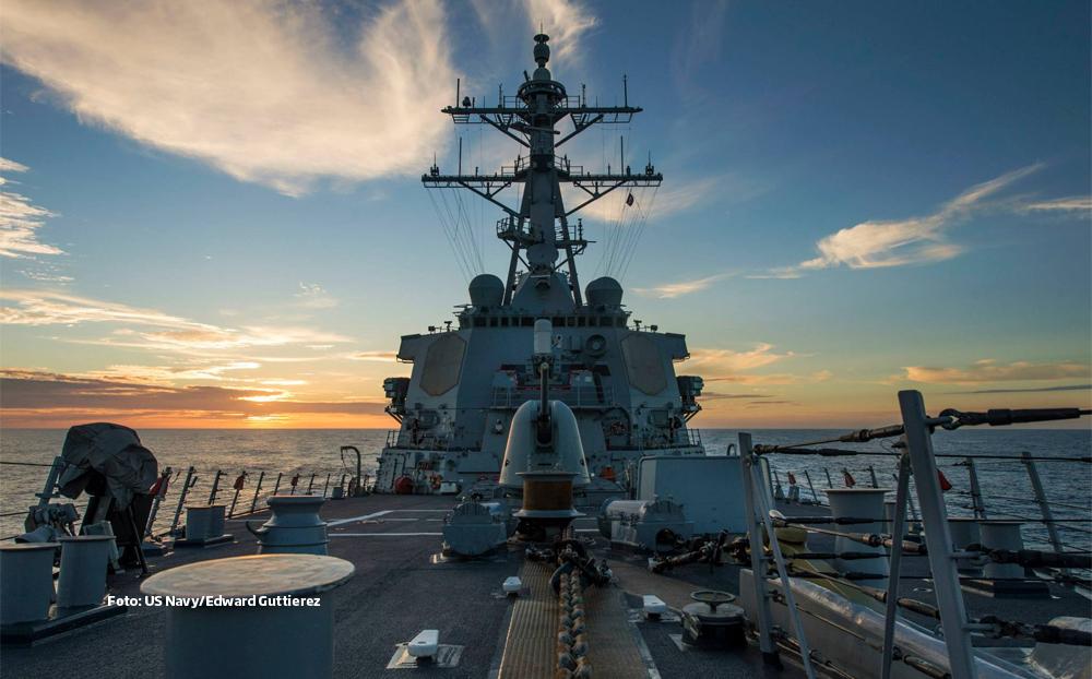 Distrugatorul USS Donald Cook soseste in Marea Neagra. Scopul: sa promoveze