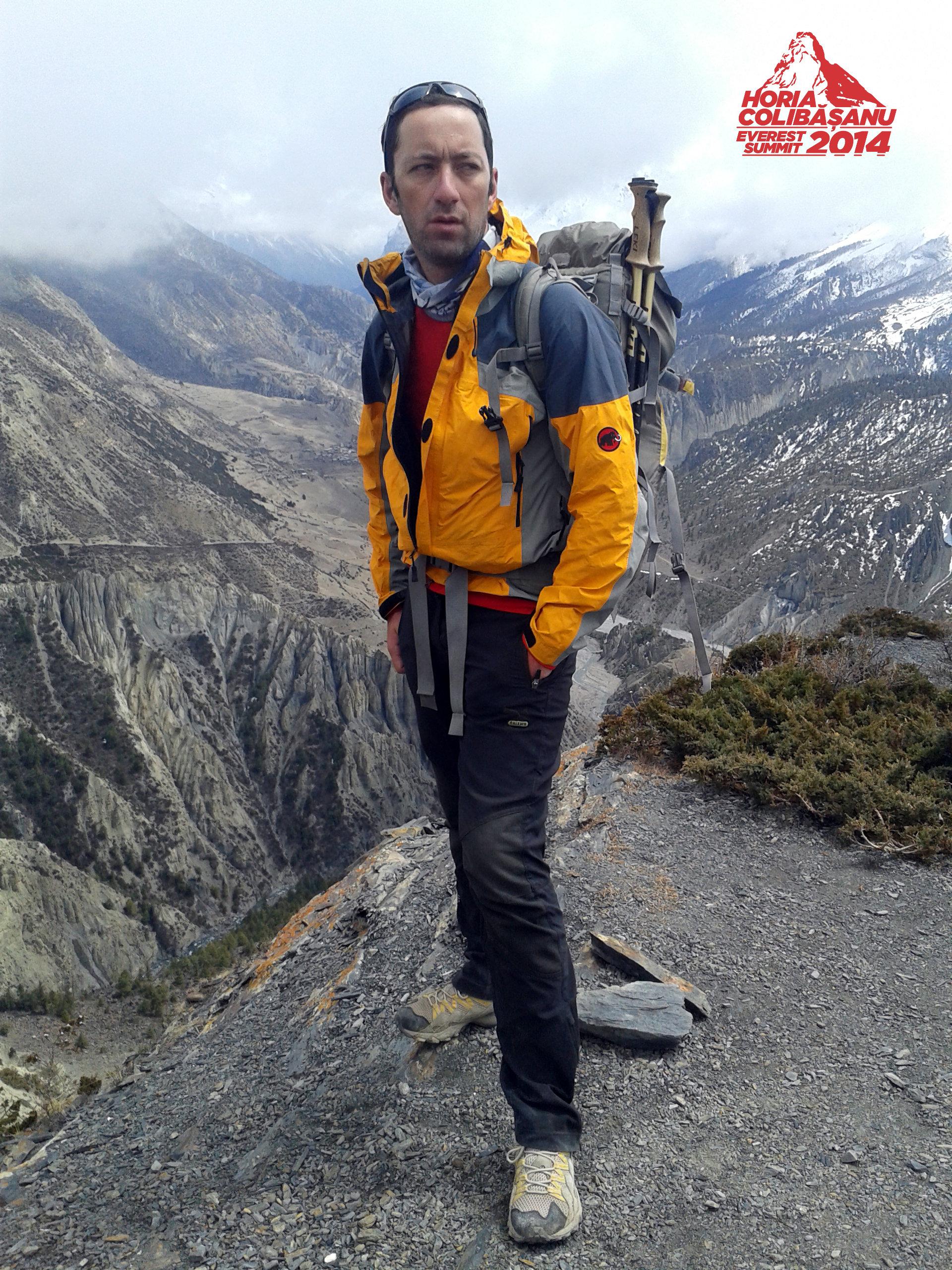 Horia Colibasanu a pornit spre Tibet. Urmeaza sa escaladeze un varf cu o rata de mortalitate mai mare decat cea de pe Everest