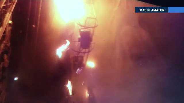 Incendiu la Teatrul National din Capitala. Angajatii i-au ajutat pe pompieri sa stinga flacarile