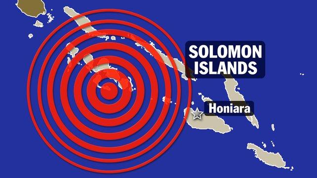 Un nou cutremur, cu magnitudinea de 7,7, a avut loc in Insulele Solomon