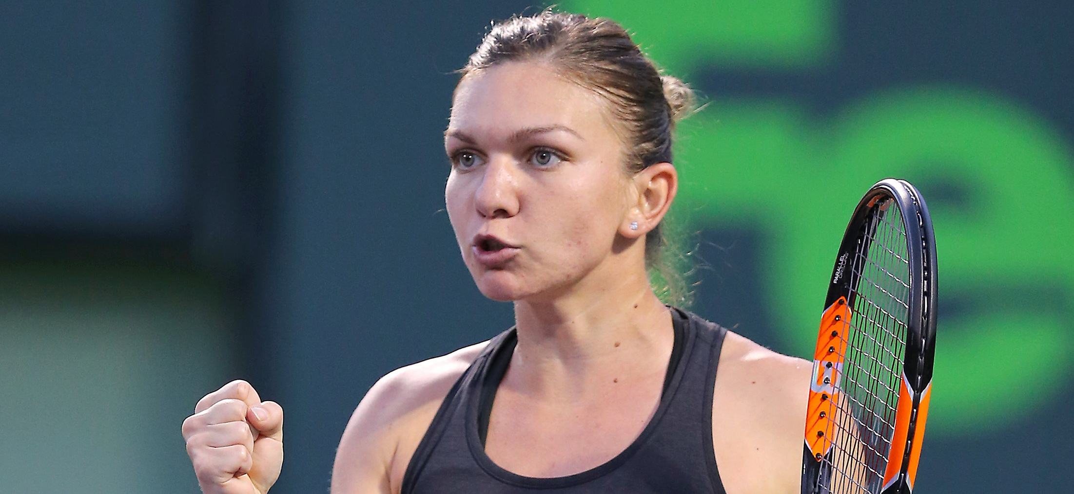 Simona Halep - Garbine Muguruza, 3-6, 6-1, 6-3. Jucatoarea romanca, in sferturile Turneului de la Stuttgart