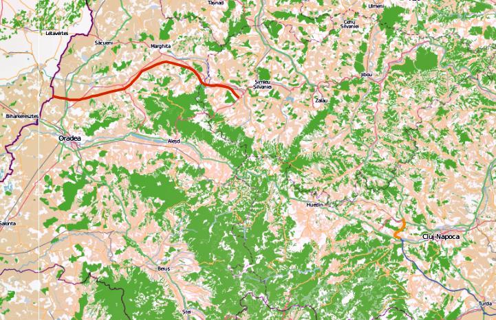CNADNR a atribuit un contract de aproape 200 mil/euro. Banii sunt pentru tronsonul de autostrada Suplacu de Bacau - Bors