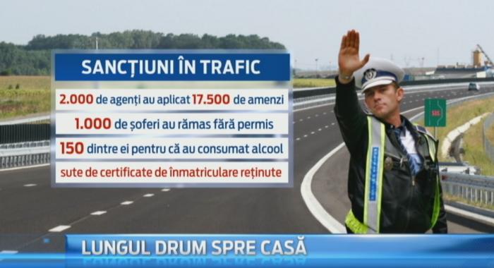 Trafic de cosmar pe Valea Prahovei. Politistii au instalat 415 radare, iar peste 1.000 de soferi au ramas fara permis
