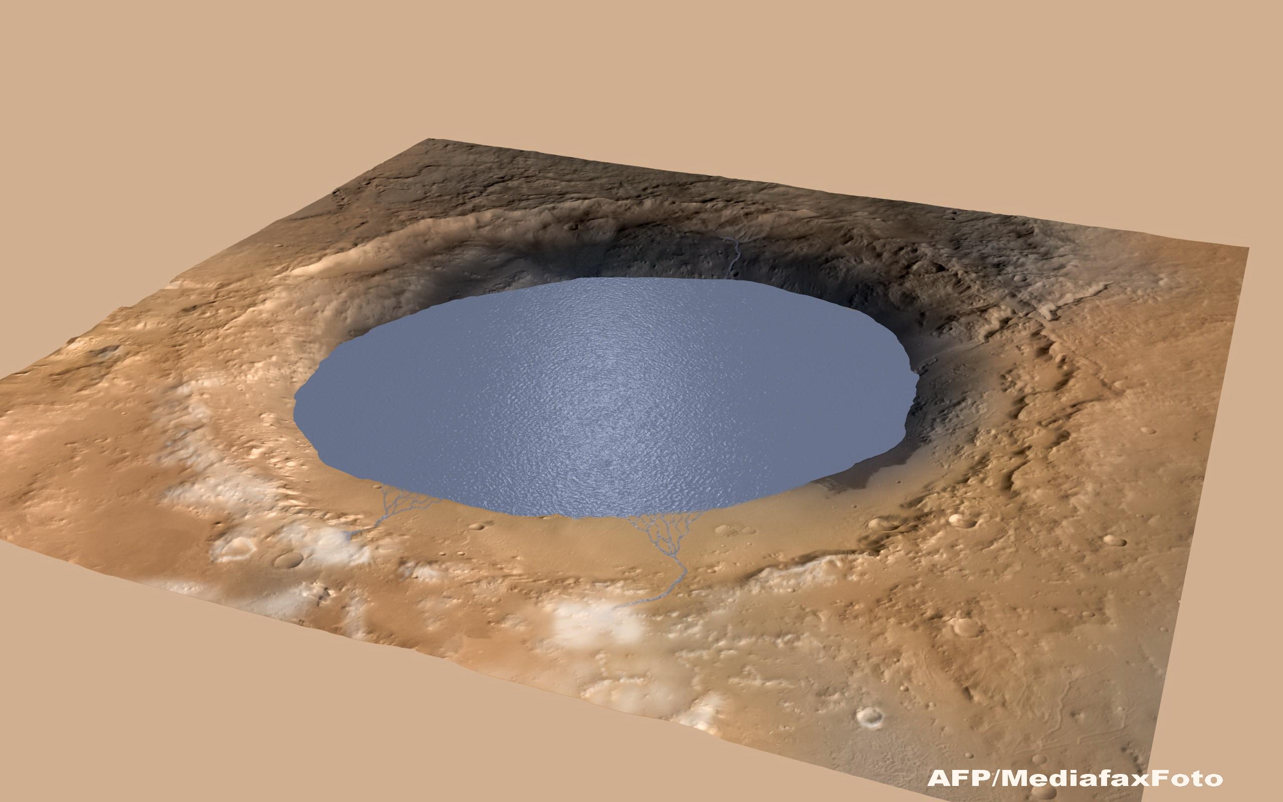 Robotul Curiosity a descoperit ca apa poate exista pe Marte in forma lichida. Ce inseamna acest lucru