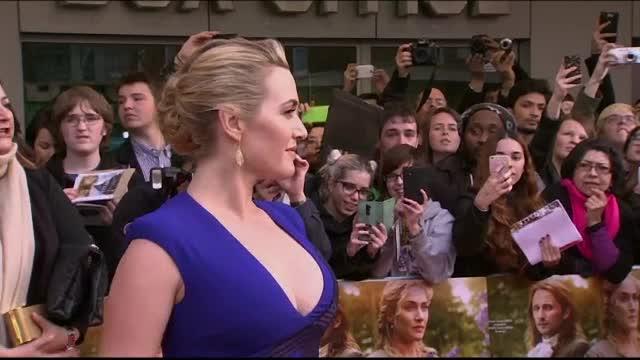 Kate Winslet a provocat un pic de haos, la premiera filmului