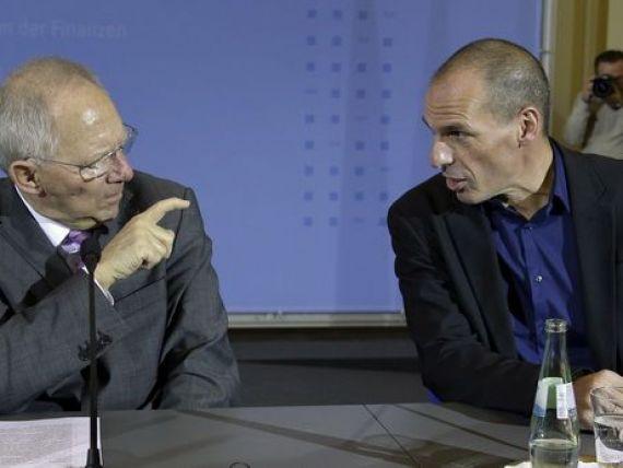 Germania trimite Grecia la Beijing si Moscova dupa bani. Varoufakis: