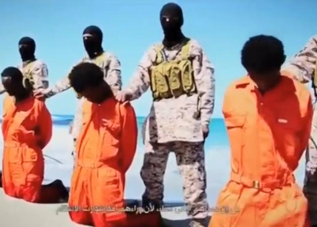 Statul Islamic a publicat inregistrarea unei noi executii. Mai multi crestini etiopieni, impuscati si decapitati pe o plaja