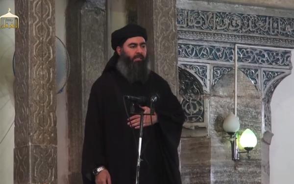 Convoiul sefului ISIS, Abu Bakr al-Baghdadi, ar fi fost bombardat de irakieni.