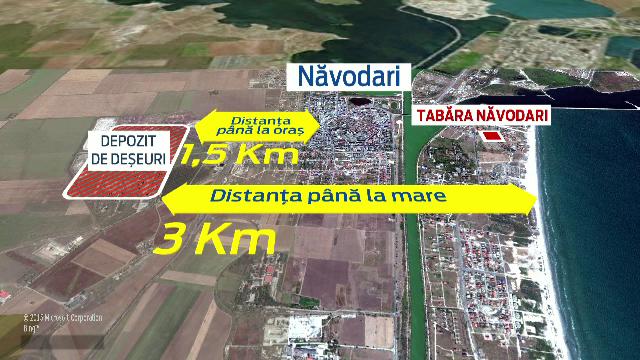 Primaria Navodari, obligata de CEDO sa construiasca o groapa cu deseuri toxice langa malul marii. Cum a fost posibil