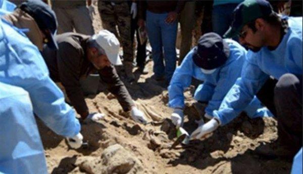 Groapa comuna, cu ramasitele a 42 de oameni ucisi de ISIS, descoperita la Palmyra.