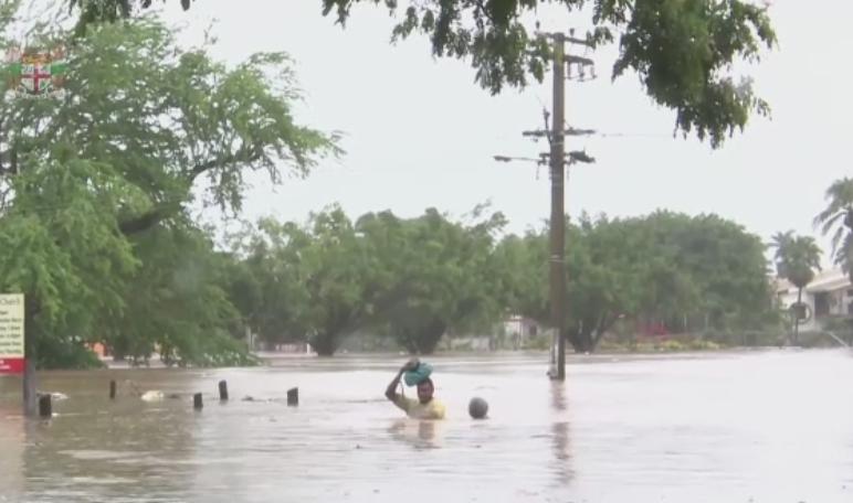 Arhipelagul Fiji, lovit de inundatii masive. Un oras intreg a fost ingropat de ape