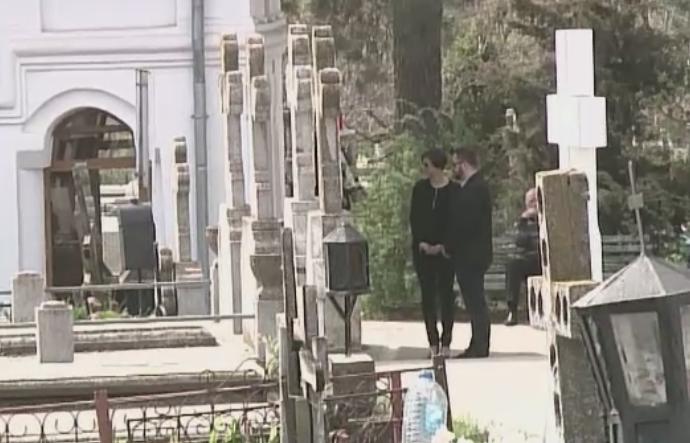 Cornel Patrichi a fost inmormantat in cimitirul din Pipera in cadrul unei ceremonii restranse. Becali, prezent la slujba