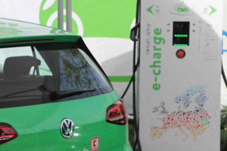 (P) Retea de statii de alimentare non-stop pentru masinile electrice, in parcarile magazinelor Kaufland din toata tara
