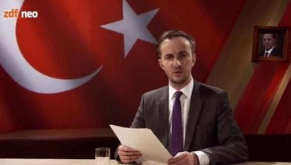 Comediantul german care l-a enervat pe Erdogan va fi urmarit penal. Ce satira obscena a scris despre presedintele turc