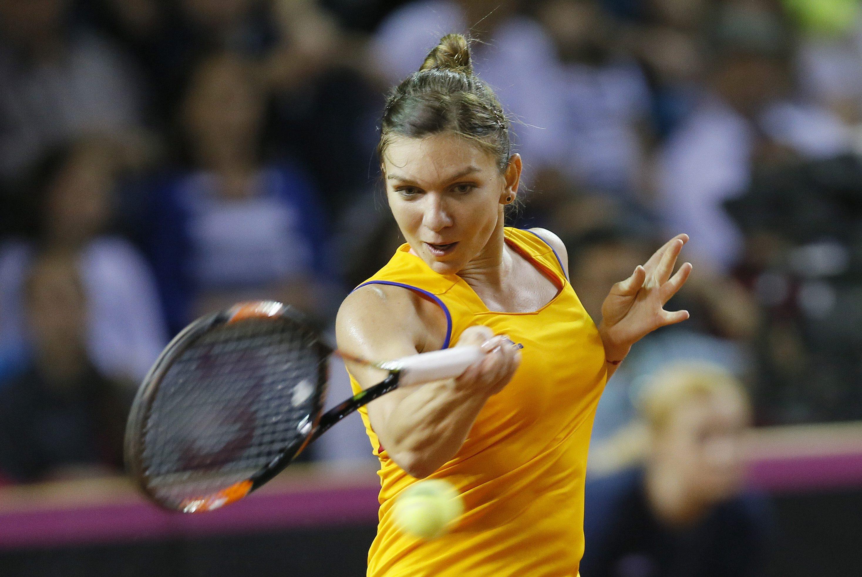 Simona Halep a invins-o pe Samantha Stosur si s-a calificat in finala turneului de la Madrid