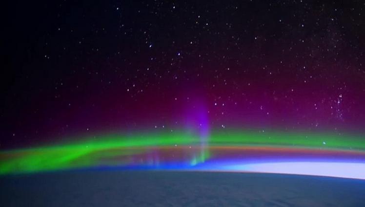 NASA a facut publica o noua inregistrare video din spatiu. Imaginile suprinse sunt spectaculoase. VIDEO