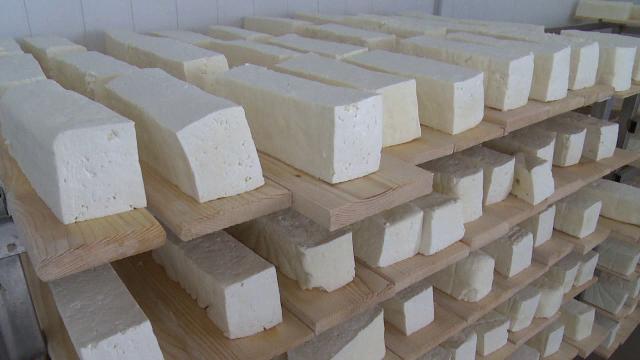 Sase tone de branza expirata din 2012, pregatita pentru vanzare, gasita la Galati. Amenda pe care a primit-o proprietarul