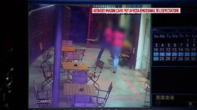 Patroana unui club din Botosani, batuta de doi clienti in fata copilului. Scandalul cu sabii si bate, surprins de camere
