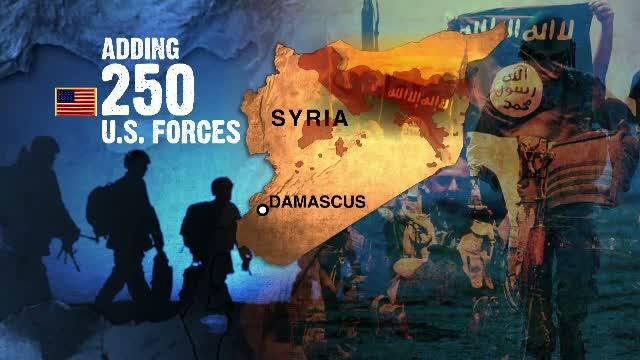 250 de soldati americani, trimisi in Siria. Misiunea acestora pe teritoriul sirian