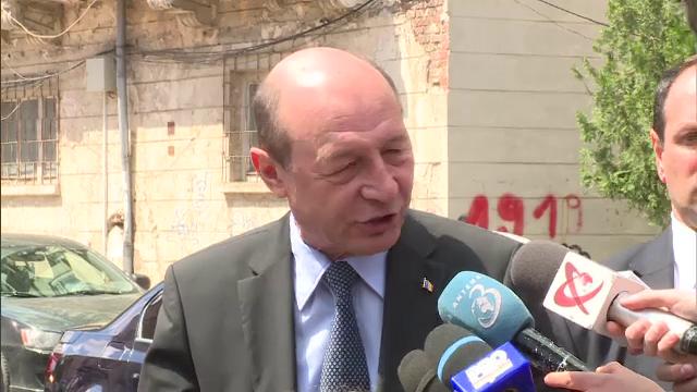 Traian Basescu, audiat la Parchetul Militar.