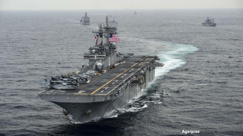 Tensiuni intre SUA si China. Beijingul a refuzat accesul unui port-avion american pentru o escala la Hong Kong