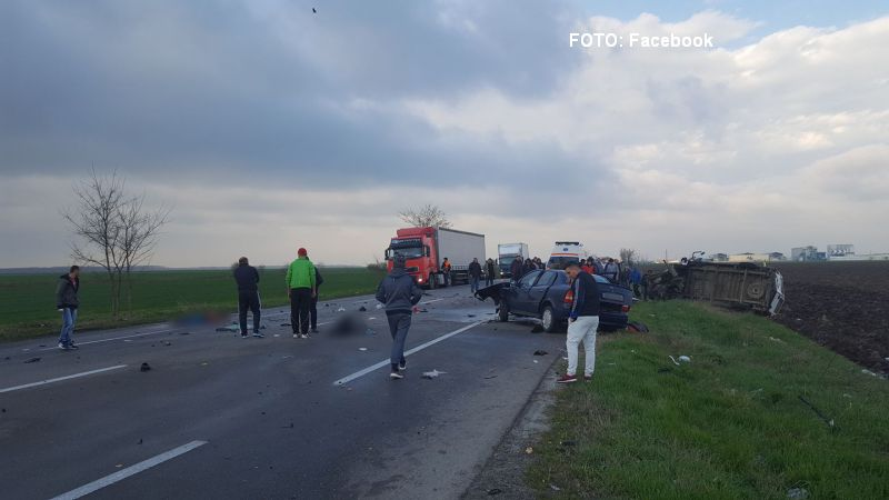 Accident grav produs in Ialomita: trei morti si patru raniti. Planul rosu de interventie a fost activat