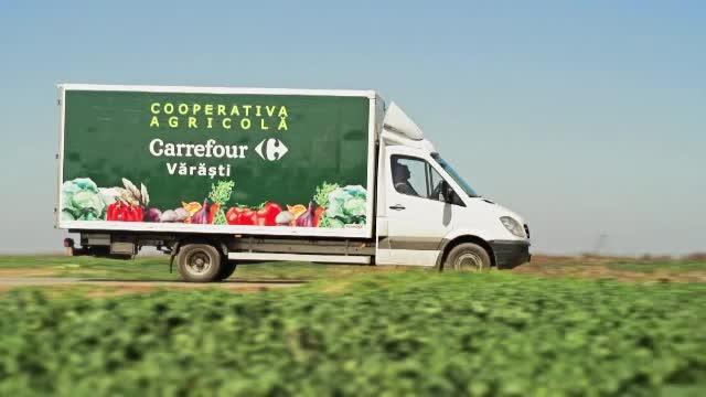 (P) Carrefour a lansat in Giurgiu prima cooperativa din Romania fondata alaturi de un retailer