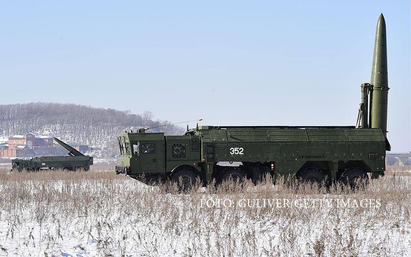 Rusia a instalat rachete nucleare Iskander în Kaliningrad. NATO şi ţările baltice, îngrijorate