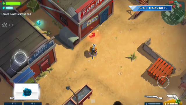 iLikeIT. Jocul saptamanii vine direct din spatiu, acolo unde au ajuns si cowboy: Space Marshals