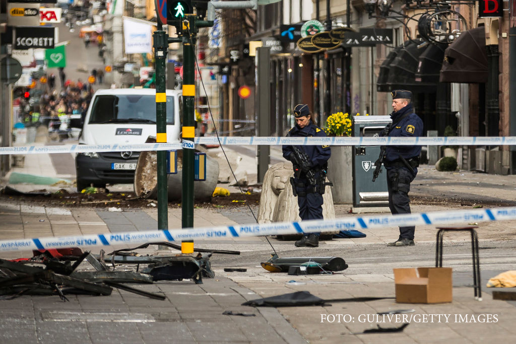 Pedeapsa primită de autorul atentatului din Stockholm. A ucis 5 oameni
