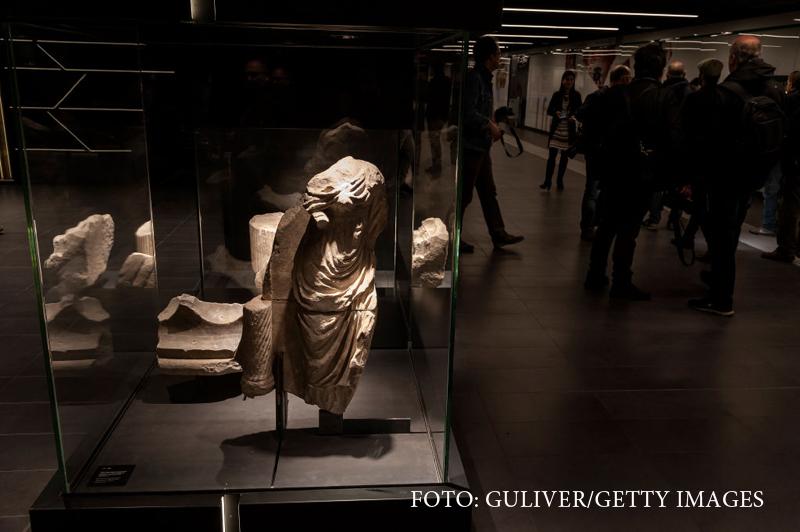 O statie de metrou din Roma va deveni muzeu. Descoperirea incredibila facuta de arheologi