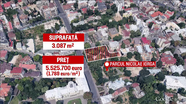 Ambasada Italiei a scos la licitatie jumatate din singurul parc public ramas pe Calea Victoriei. Culisele afacerii