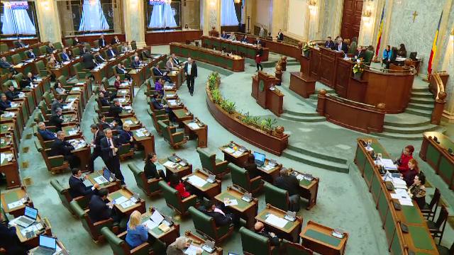 Parlamentul a desfiintat notiunea de