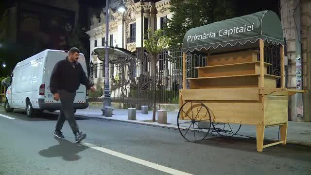 Timp de cateva zile, Calea Victoriei din Bucuresti este doar a pietonilor: