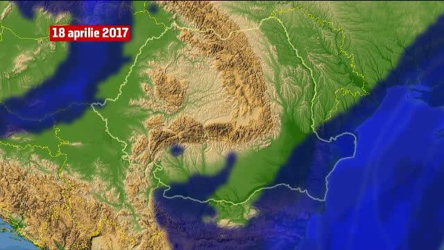 Cod portocaliu de NINSOARE si cod galben de vreme rea pentru urmatoarele zile. Un ciclon va traversa Romania
