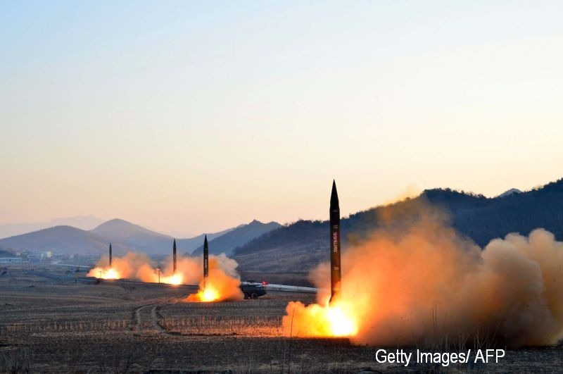 Coreea de Nord a difuzat la finalul unui spectacol un clip in care distruge un oras din SUA cu o racheta nucleara