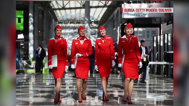 Aeroflot, data in judecata de stewardesele autointitulate STS -