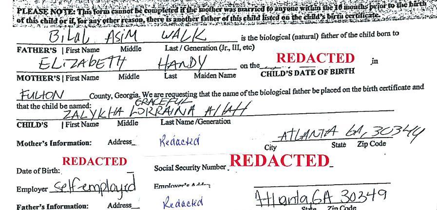 S-au judecat cu statul american vreme de un an pentru ca fetita lor sa se cheme