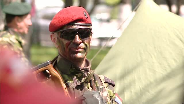 Parcul Tineretului din Bucuresti a aratat ca o baza militara. Cum si-au serbat ziua militarii de la Fortele Terestre