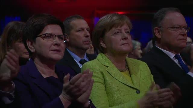 Angela Merkel, la cel mai mare targ industrian din lume. Ce a declarat despre discutiile cu Donald Trump