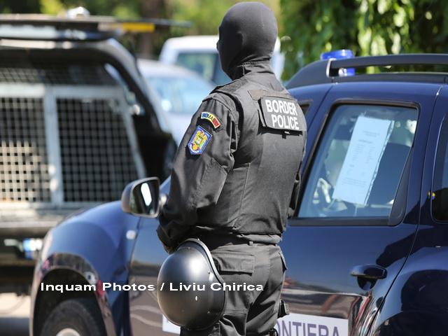 Refugiati prinsi de politia de frontiera dupa ce au incercat sa treaca fraudulos granita Romaniei