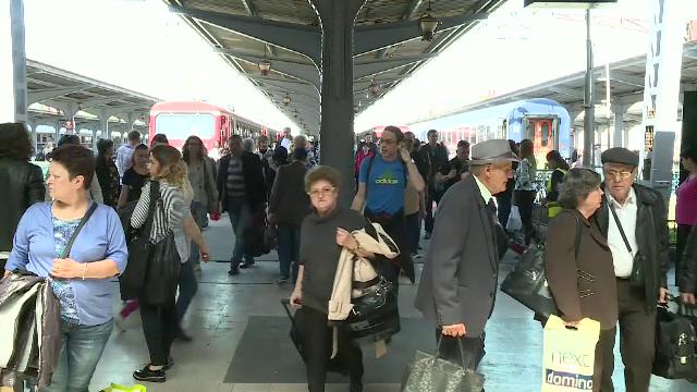 Wi-fi gratuit în Gara de Nord. Câți utilizatori se pot conecta simultan