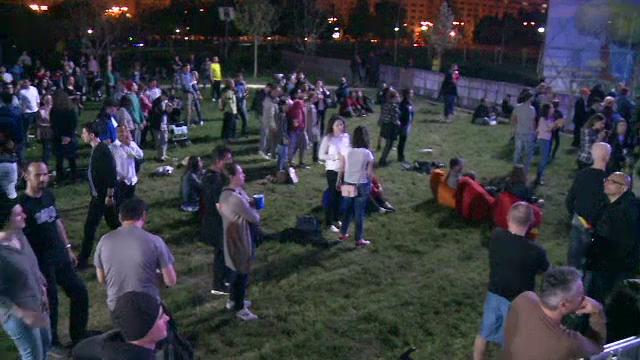 In parcul Izvor din Capitala muzica balcanica va rasuna pana pe 2 mai. Goran Bregovic va concerta duminica seara