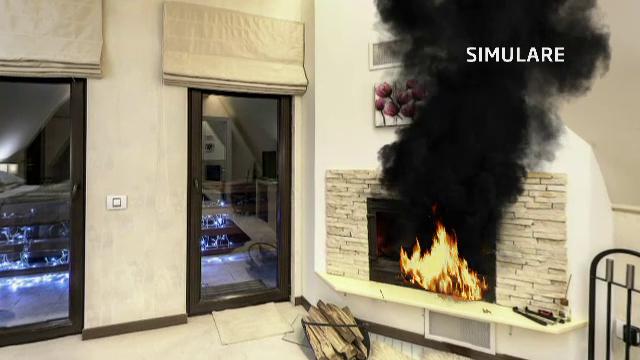 SIMULARE. Incendiul ce a cuprins hotelul de lux din Sinaia, pornit de la semineu. Cat costa cazarea in camera care a luat foc