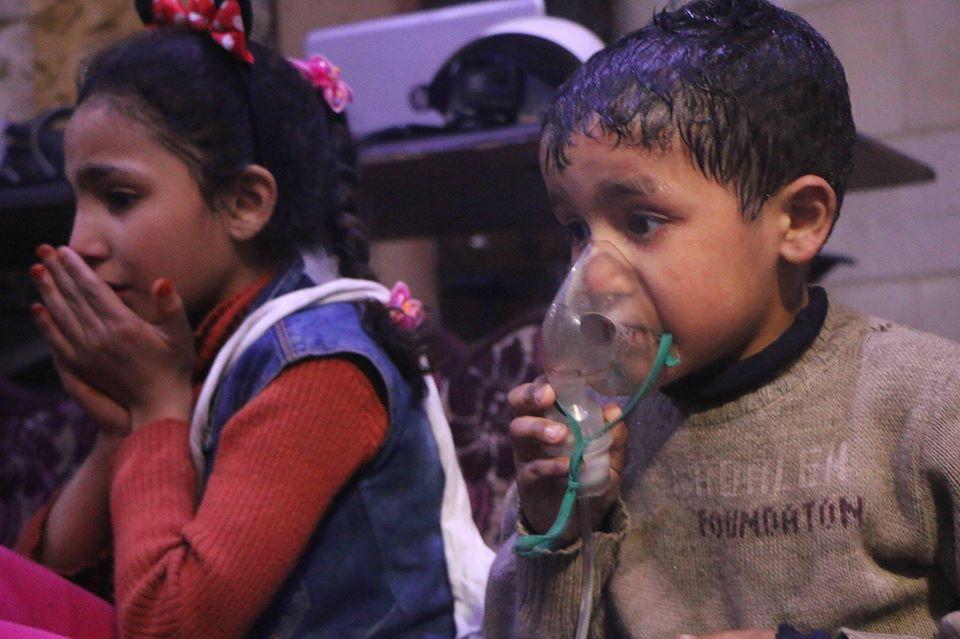 Cel puțin 70 de morți, în urma unui presupus atac chimic în Siria. Imagini cu impact emoțional