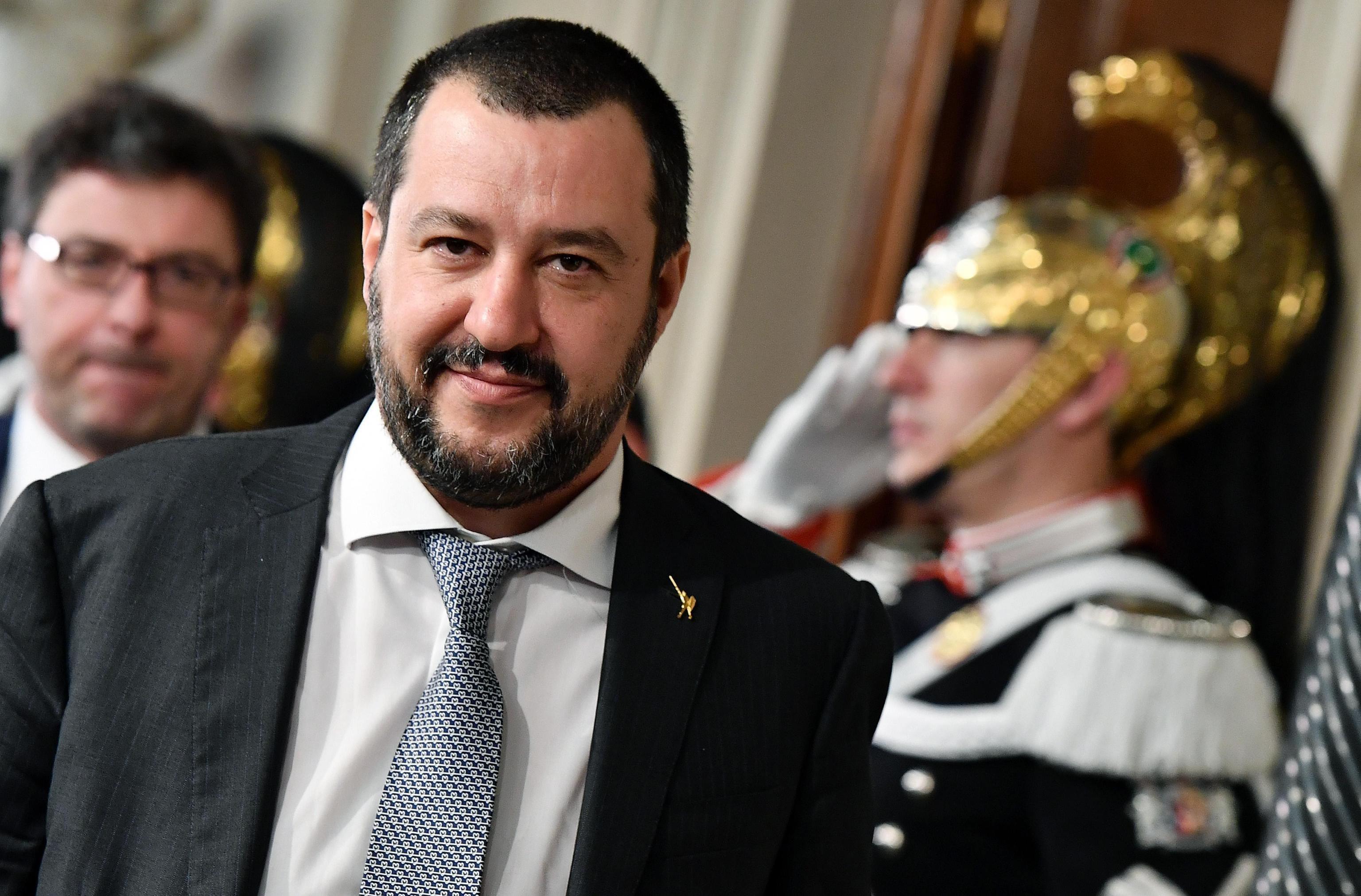 """Matteo Salvini: """"Italia vrea să rămână în UE, dar să schimbe regulile"""""""